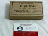 World War 2 45 A.C.P. Pistol Ball Steel Cases From Evansville Ordnance Plant