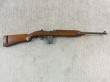 Inland Division Of General Motors Early Oval Cut Stock Style Production Carbine