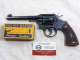 colt early officers model target factory engraved with colt letter