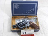 Smith & Wesson Model 37 Chiefs 38 Special In The Light Weight Frame With The Original Box