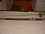 English Royal Navy Reserve Sword - 1 of 12