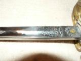 English Royal Navy Reserve Sword - 4 of 12
