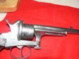 Mariette Brevete pinfire revolver - 12 of 12