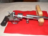 Mariette Brevete pinfire revolver - 7 of 12