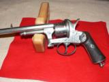 Mariette Brevete pinfire revolver - 1 of 12