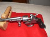 Mariette Brevete pinfire revolver - 8 of 12