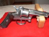 Mariette Brevete pinfire revolver - 3 of 12