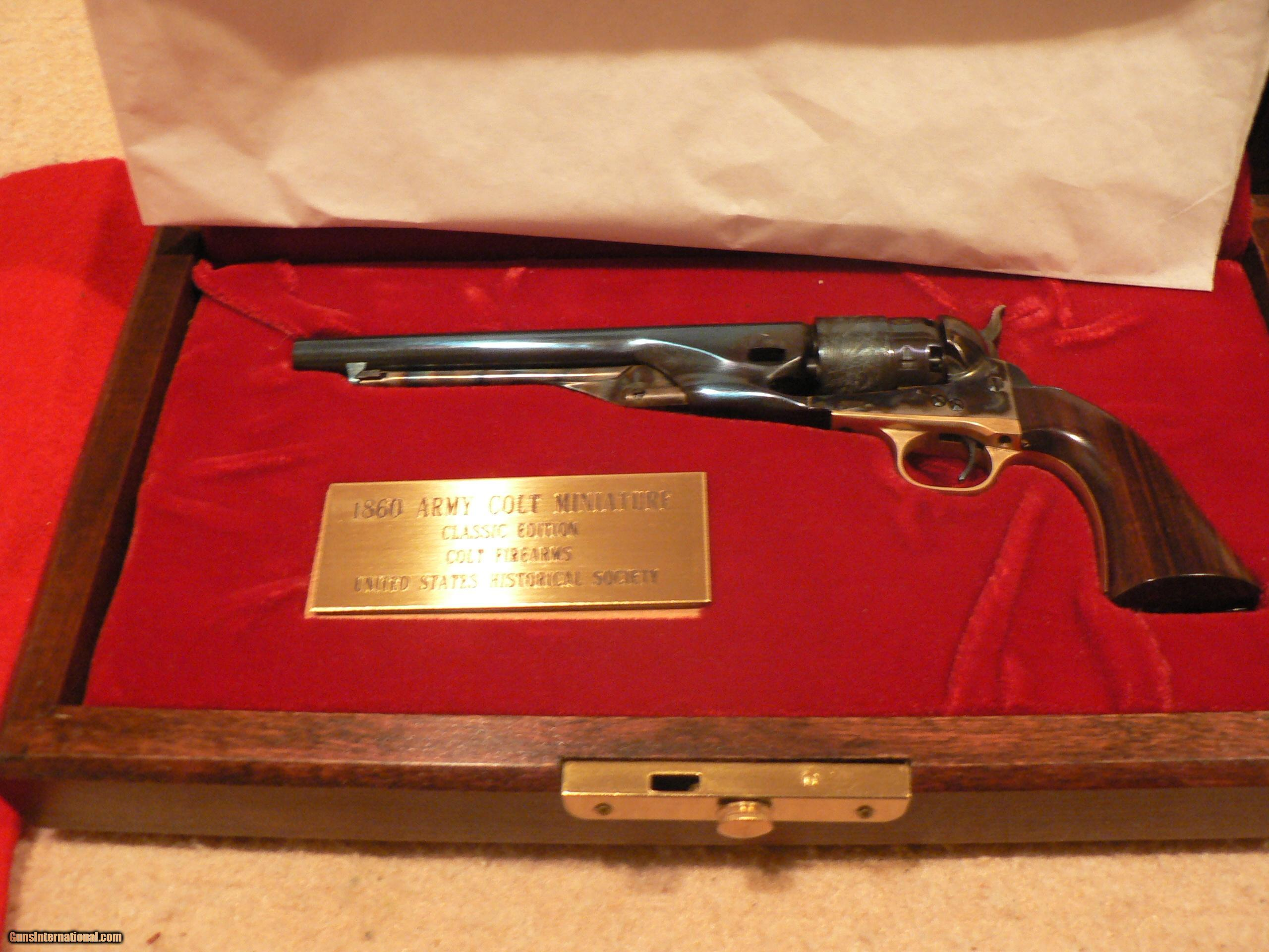 Collection of US Historical Society Miniature Firearms