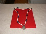 Native American Necklace made from Hudson Bay trade beads - 1 of 8