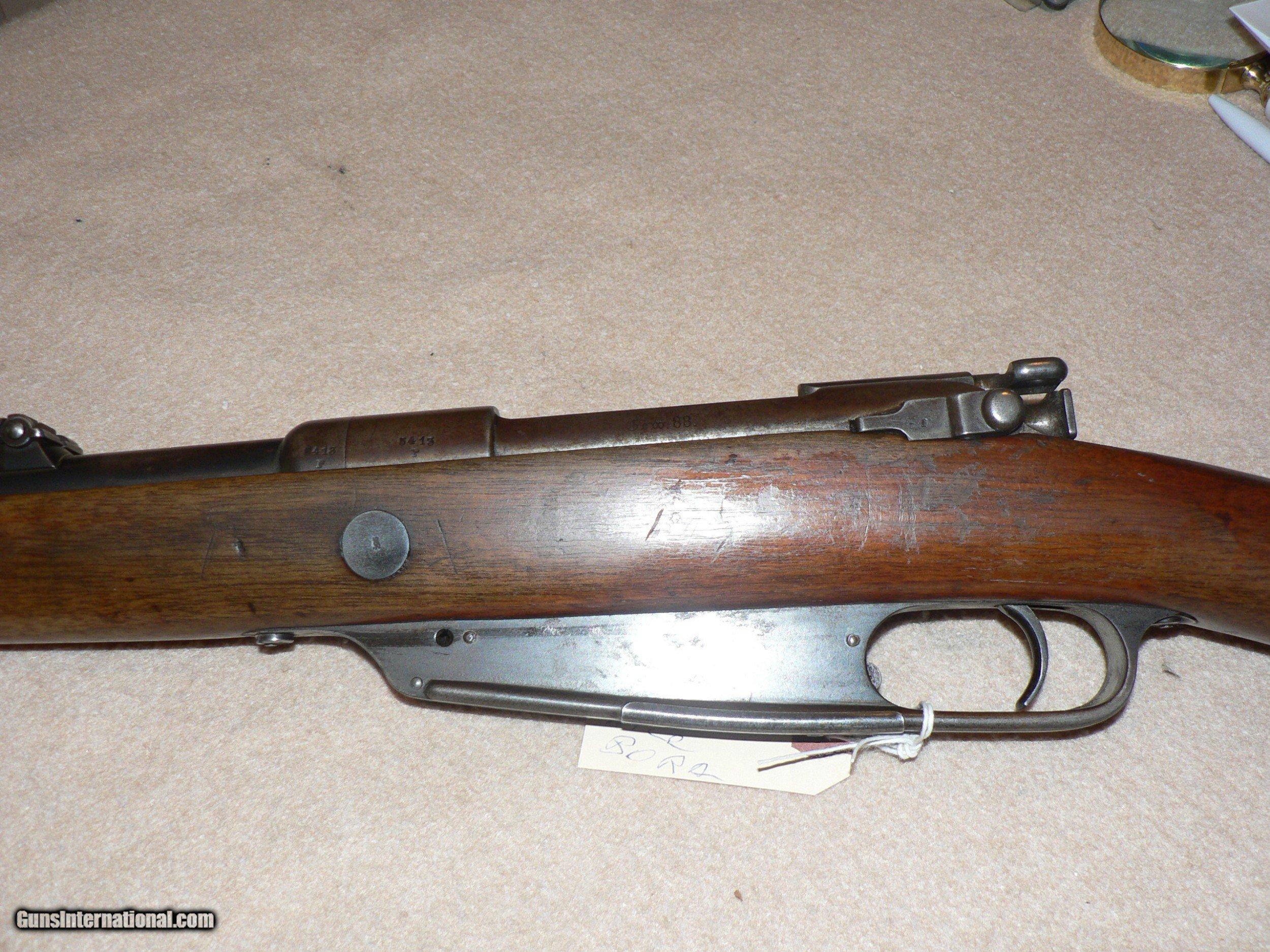 Model 1888 German Commission 8mm Mauser for sale