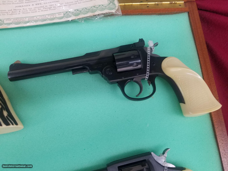 Iver Johnson 100 Years of fine Gunsmithing 4 gun set