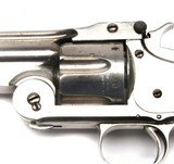 """RARE HIGH CONDITION 2ND MODEL NO 3 SMITH & WESSON AMERICAN, 8"""" BARREL X 44 RUSSIAN, NICKEL, WALNUT, SOME KNOWN HISTORY - 3 of 14"""