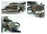 """VERY RARE EARLY 1880'S PRODUCTION 38 COLT MODEL 1877 DA """"LIGHTNING"""" WITH 6"""" BARREL, NO EJECTOR """"SHERIFF'S MODEL"""" RUBBER GRIPS, FACTORY LETTER - 14 of 15"""