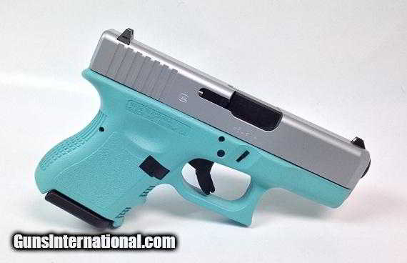 2ef87396649 For Sale  Diamond Blue Glock 26 Gen3 9mm Handgun - 1 of 1. Guns  International    101181083