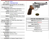 "Ruger GP100 Match Champion Double Action Revolver SS 4.2"" - 4 of 4"