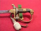 GERMAN WWII ARMY OFFICERS LIONS HEAD SWORD - 4 of 6