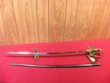 GERMAN WWII ARMY OFFICERS LIONS HEAD SWORD - 6 of 6