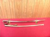 US 1902 OFFICERS SWORD - 5 of 5