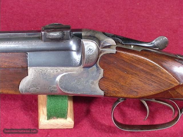 JP SAUER BBF 54 OU CAPE GUN 16GA AND 8X57JR