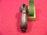 BELGIUM FOLDING TRIGGER 38 6 SHOT REVOLVER - 4 of 5