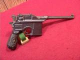 MAUSER BROOM HANDLE 1920 DATED REWORK 9MM
