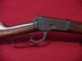 WINCHESTER MODEL 1892 (92) 32-20 OCT RIFLE - 1 of 6