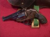 IVER JOHNSON SAFETY HAMMERLESS LARGE FRAME 3RD MODEL 38