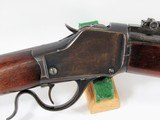 WINCHESTER 1885 HIGH WALL MUSKET