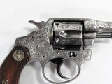 "COLT POLICE POSITIVE 38 S&W 4"", ENGRAVED BY JOHN ADAMS SR - 2 of 16"