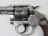"COLT POLICE POSITIVE 38 S&W 4"", ENGRAVED BY JOHN ADAMS SR - 6 of 16"