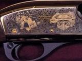PBR BUSHWHACKER Remington Engraved Commemorative 870 12 Ga Police Shotgun 1 of 50 MIB - 11 of 15
