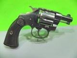 vintage colt police positive snub nose .32 revolver