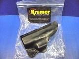 GLOCK 43 Kramer Pocket Holster Pistol Leather Mfg. USA New - 1 of 7