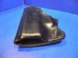 GLOCK 43 Kramer Pocket Holster Pistol Leather Mfg. USA New - 5 of 7