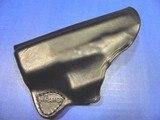 GLOCK 43 Kramer Pocket Holster Pistol Leather Mfg. USA New - 4 of 7