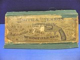 Smith & Wesson Baby-Russian Antique 38 Single-Action Revolver Box for Parts MW ROBINSON - 1 of 7