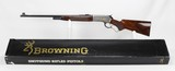 BROWNING, HIGH GRADE, MODEL 71, ENGRAVED