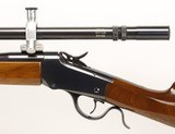 """WINCHESTER 1885, LOW WALL,""""CUSTOM 22 HORNET """" - 10 of 25"""