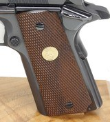 COLT 1911 MKIV, SERIES 70, GOLD CUP NATIONAL MATCH, - 5 of 24