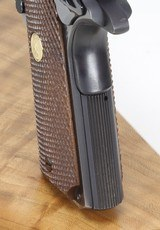 COLT 1911 MKIV, SERIES 70, GOLD CUP NATIONAL MATCH, - 8 of 24