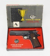 "COLT 1911, GOLD CUP NATIONAL MATCH,""1967"",PRE MODEL 70"