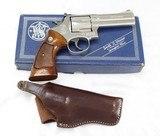 S&W Model 586 (No Dash) Distinquished Combat Magnum.357 Mag.Nickel