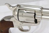 Colt SAA 3rd Generation - Nickel .45 Colt - 18 of 25