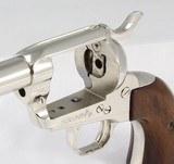 Colt SAA 3rd Generation - Nickel .45 Colt - 22 of 25