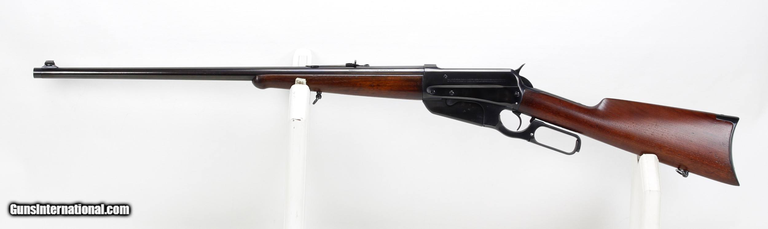 Winchester Model 32 Rifle .32 32, Factory Barrel Threaded for ...