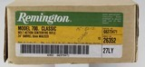 Remington 700 Classic Limited Edition