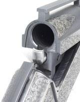 LJUTIC-MONO GUN, CUSTOM ENGRAVED, TWO BARRELS, 12GA - 24 of 25
