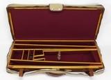 Custom Oak & Leather 3- Barrel Shotgun Case