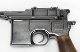 Mauser C-96 Broomhandle w/ Wooden Stock / Holster - 8 of 25