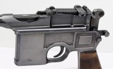 Mauser C-96 Broomhandle w/ Wooden Stock / Holster - 17 of 25